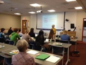 03-14-2015 pic1 UM Start Smart workshop Annie Houle Trainer