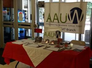 v2 UMW AAUW table spring-April 2015